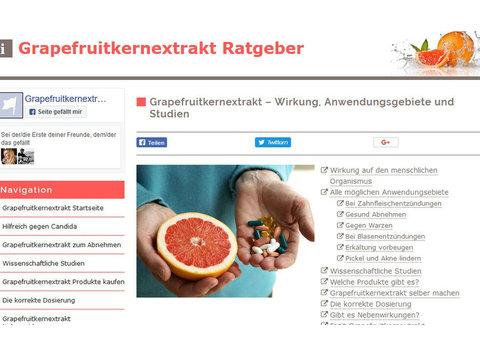 Grapefruitkernextrakt wirkung