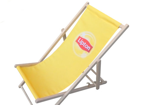 Branded deckchairs, hammocks, windbreaks, bags etc - Business Partners