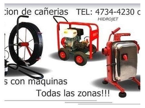 Servicio de video inspeccion de cañerias Cloacal y Pluvial - Electricistas/Fontaneros