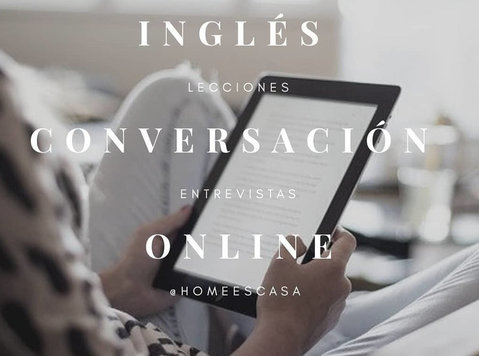 Ingles clases online grammar&conversation by Zoom Homeescasa - மொழி வகுப்புகள்