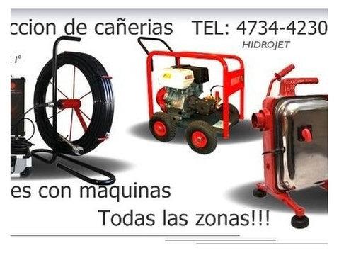 servicio de video inspeccion de cañerias y destapaciones - Hogar/Reparaciones