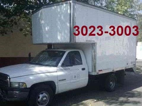 fletes y mudanzas en barrio norte,1130233003. - Flytting/Transport