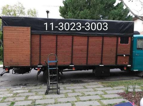 mudanzas,fletes en barrio norte,1130169589- - Flytting/Transport