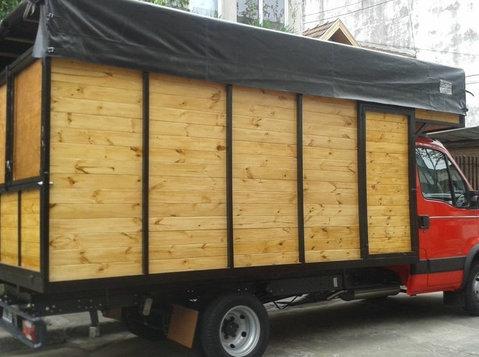 mudanzas y fletes en beccar,1130169589- - Flytting/Transport