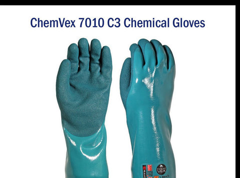 Chemical Protective Gloves - Liquid PVC Gloves - Autres