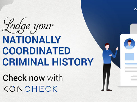 Nationally Coordinated Criminal History apply with Koncheck - Autres