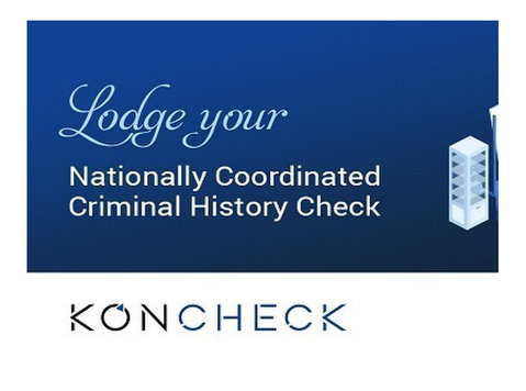 Koncheck offers to Conduct all Police Checks under one Platf - Другое