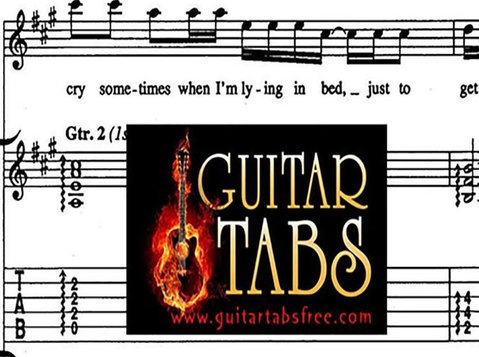 Sheet Music, Chords, Guitar Tabs, Song Books, Lyrics pdf - Livros/Games/DVDs