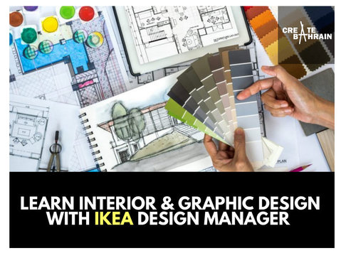 Learn Design with IKEA Design Manager (Interior & Graphic) - Езикови курсове