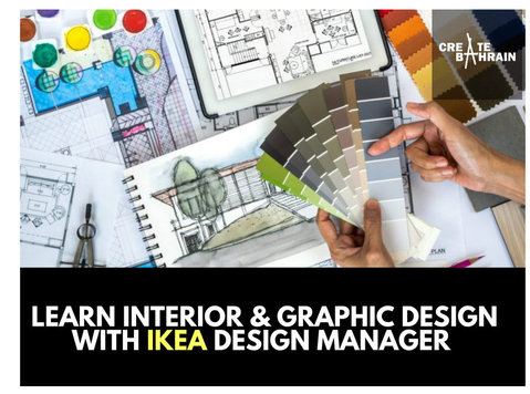 Interior & Graphic Design with IKEA Design Manager - Kielikurssit