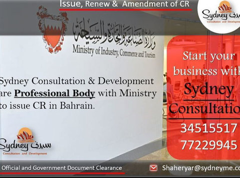 Start your business with Sydney Consultation - Services: Other