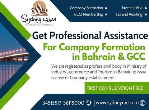 Company formation in Bahrain and Gcc - دوسری/دیگر