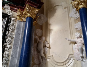 Stucco marmo veneziano venetian marble columns marmorino - Κτίρια/Διακόσμηση