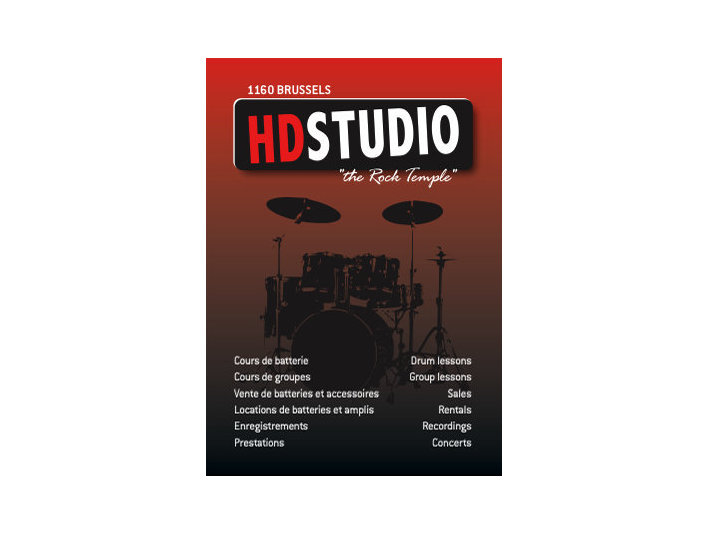 Drum Lessons Brussels Hd Studio 1160 Bxl. - Музика / Театър / Танци