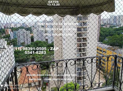 Redes de Proteção na Vila Clementino, (11) 5541-8283 - Baby/kinderspullen