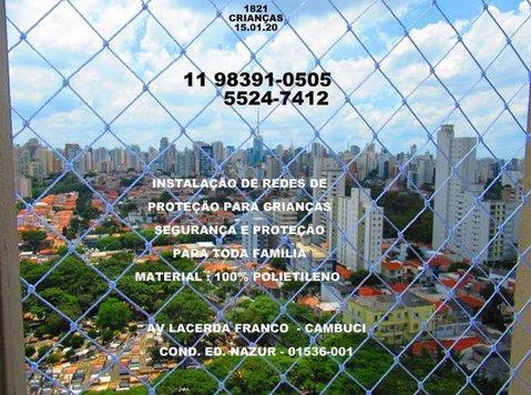 Redes de Proteção na Cidade Dutra. (11) 98391-0505 zap - Товары для детей
