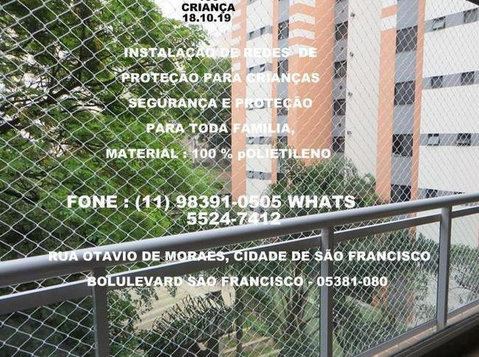 Redes de Proteção na Rua Otavio de Moraes, (11) 98391-0505 - Μωρουδιακά/Παιδικά