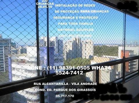 Redes de Proteção na Vila Andrade, (11) 98391-0505 zap - Vauvojen/Lasten tarvikkeet