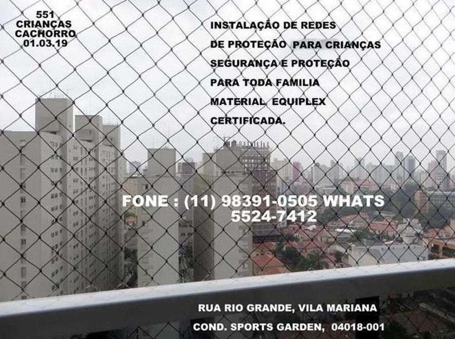 Redes de Proteção na Vila Mariana, Rua Rio Grande . - Crianças & bebês