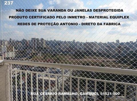 Redes de Proteção no Cambuci, Rua Cesario Ramalho, a - Vauvojen/Lasten tarvikkeet