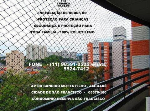 Redes de Proteção no Jaguaré, (11) 98391-0505 zap - Baby/kinderspullen