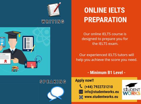Online Ielts Classes - Language classes