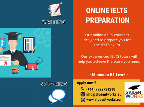 Online Ielts Classes - 語学教室