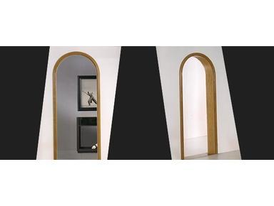 الأبواب الخشبية الصلبة الجولة بأكملها - Inne