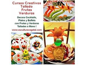 Cursos de tallado en frutas y verduras Garnish Mukimono - Outros