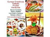 Cursos de tallado en frutas y verduras Garnish Mukimono - Otros