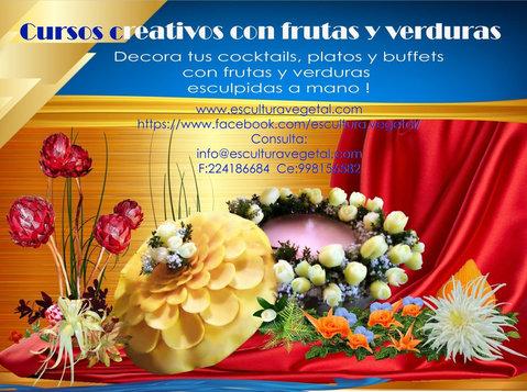 Cursos decoraciones frutas y verduras - Otros