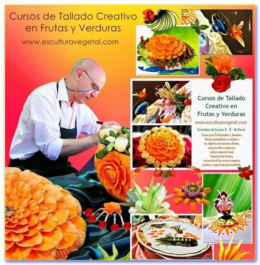 Decoracion de fruta los utensilios del chef decoracion de for Utensilios del chef
