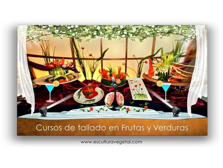 Cursos de tallado en Frutas y verduras - Outros