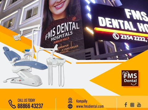 Best Dental Clinic In Jubilee Hills - 8885060770 - Güzellik/Moda