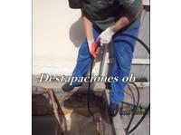 Destapaciones con maquinas cloacales y pluviales - Electricistas/Fontaneros