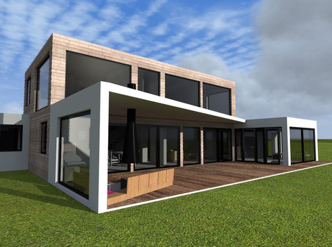 Inexpensive prefabricated houses from Europe - שותפים עסקיים