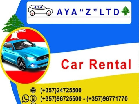 Car Hire AYA Z Car Rental - Moving/Transportation