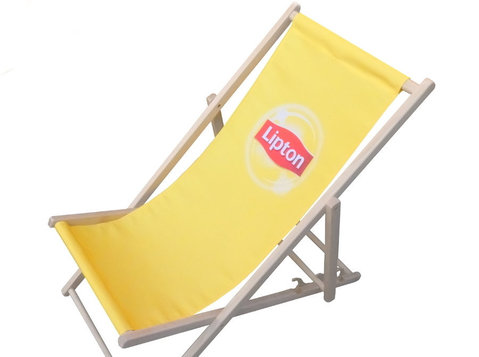 Branded deckchairs, hammocks, windbreaks, bags etc - Socios para Negocios
