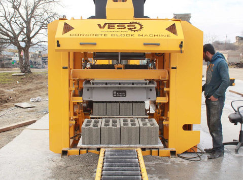 Concrete Block Machine Vess Eco - Muu