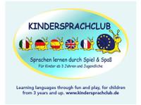 Englisch fuer Kinder (3-6 J.) Spielgruppen und Sprachkurse - Sprachkurse