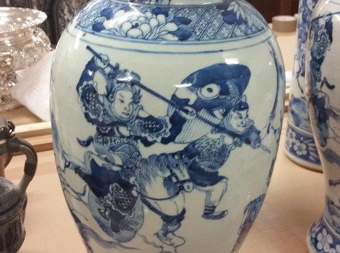 Ankauf Asiatika - Buddhas - russische Kunst - Ikonen - نادر و نایاب/قدیم اشیاء