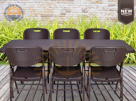 Portable foldaway furniture - New series 2020 Rattan style - Furniture/Appliance