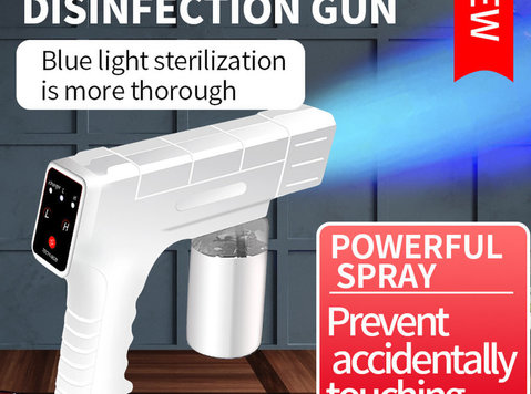 DISINFECTANT SPRAY MACHINE - PROTECT YOUR HOME, OFFICE - Partnerzy biznesowi