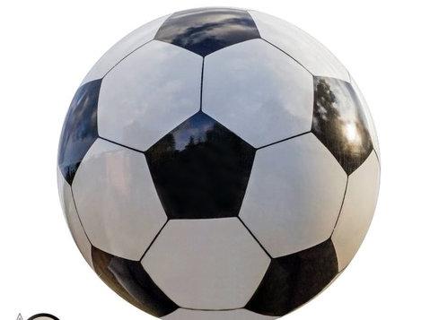 Balón de Fútbol en Mármol - Ostatní