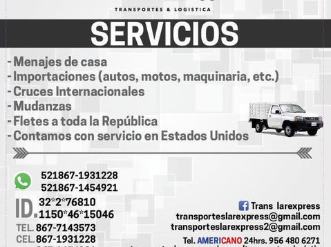 Mudanzas A Todo México - Moving/Transportation