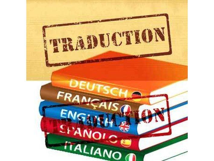 Traductions Anglais/espagnol/italien/francais. - Tekst/Oversettelse