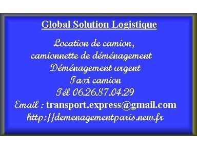 Location camion avec chauffeur pour déménagement - Chuyển/Vận chuyển