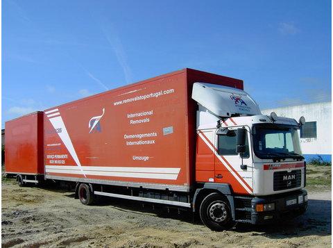 Déménagements International France Belgique Espagne Portugal - Moving/Transportation