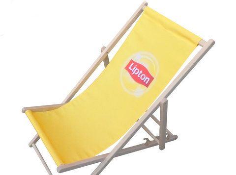 Branded deckchairs, hammicks, windbreaks, bags etc - Business Partners