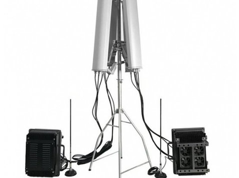 Anti-drone Uav Jammer 7 Bands 178w Up To 3000m - Eletrônicos